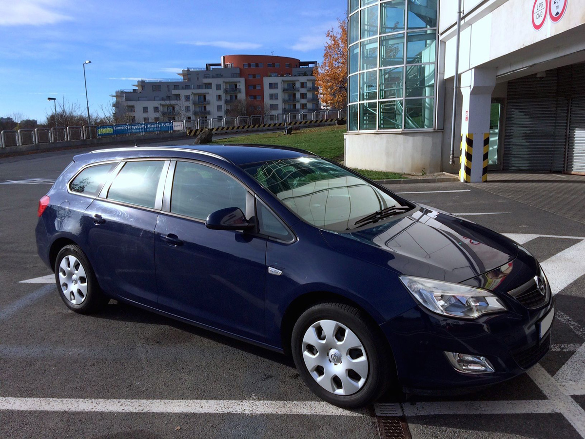 Opel Astra 1.7 CDTI ECOTEC (2008) - acceleration from 0 to ...